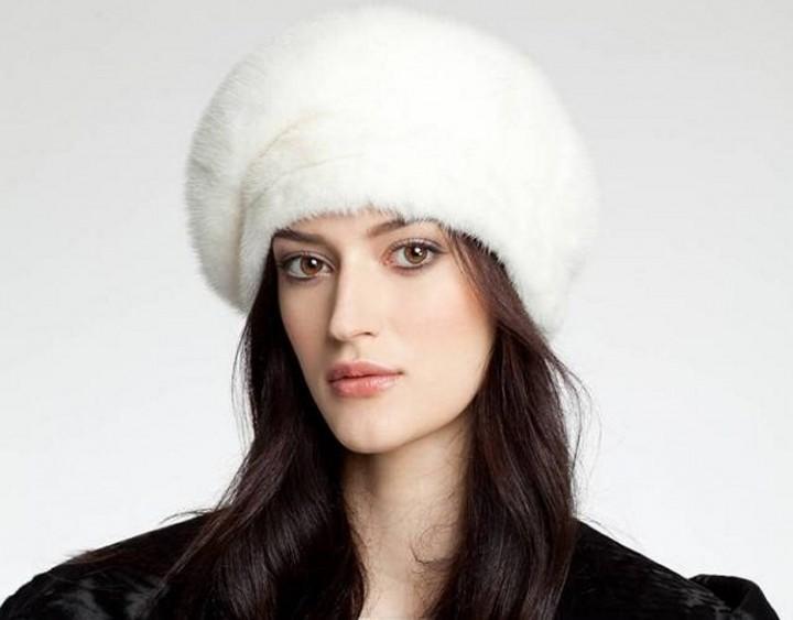 Почистить в домашних условиях белую норковую шапку
