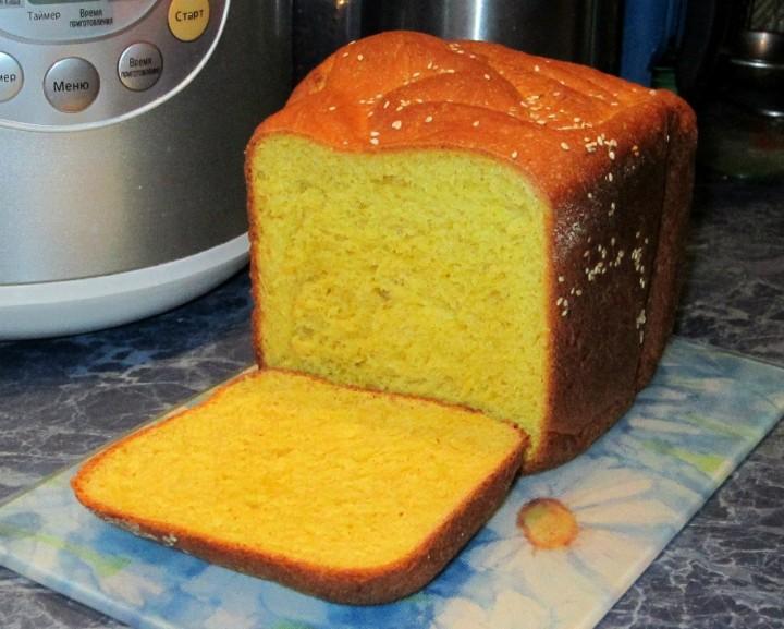 Кукурузный хлеб без пшеничной муки рецепт в хлебопечке