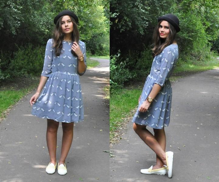 Платья с мокасинами