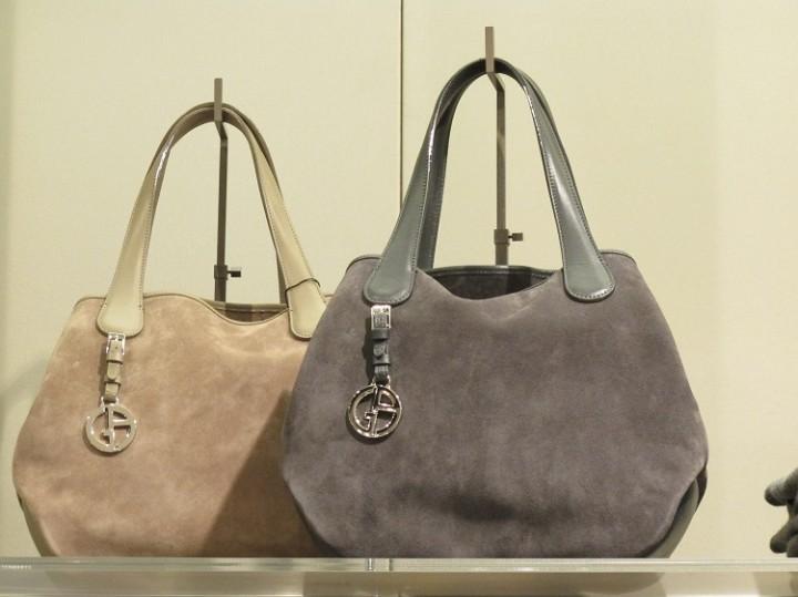 Littleone: Замшевая сумка красится!!! Что делать?