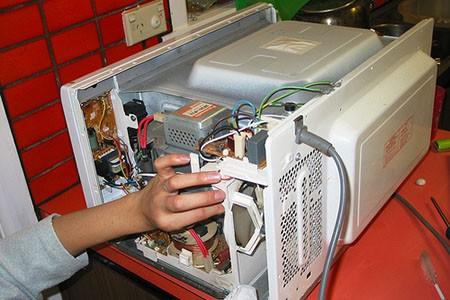 Что можно сделать из старой микроволновой печи