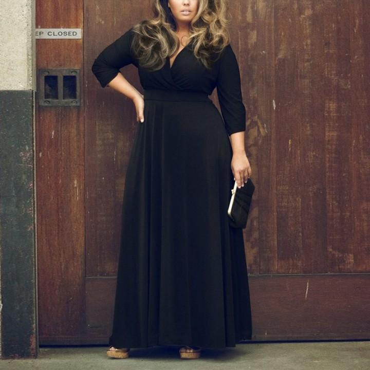 Вечерние платья на толстушек