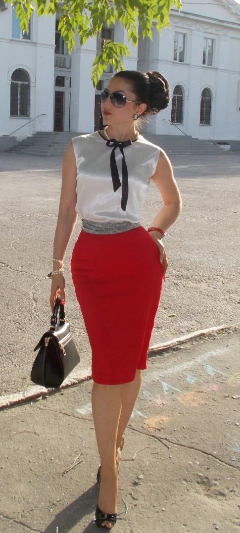 карандаш юбка туфли секс и девки фото блузка
